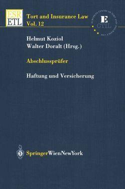 Abschlussprüfer von Doralt,  Walter, Koziol,  Helmut
