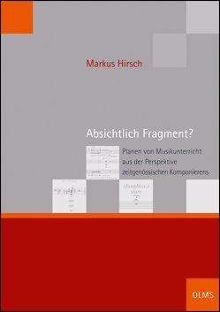 Absichtlich Fragment? von Hirsch,  Markus