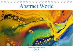 Abstract World – Soni Art (Tischkalender 2019 DIN A5 quer) von Schreiber,  Sonja