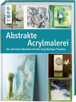 Abstrakte Acrylmalerei von frechverlag