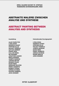 Abstrakte Malerei aus Amerika und Europa von Federle,  Helmut, Kuspit,  Donald, Mangold,  Robert, Marden,  Brice, Richter,  Gerhard, Ryman,  Robert