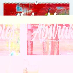 Abstraktes – Harmonie des Zufalls in Formen und Farben (Premium, hochwertiger DIN A2 Wandkalender 2020, Kunstdruck in Hochglanz) von Freise (©lenshiker),  Gunnar