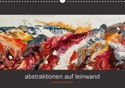 Abstraktionen auf Leinwand (Wandkalender 2018 DIN A3 quer) von Kuczinski,  Katharina