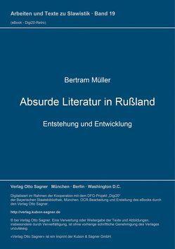Absurde Literatur in Rußland von Müller,  Bertram