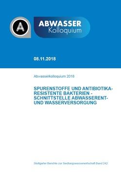 Abwasserkolloquium 2018