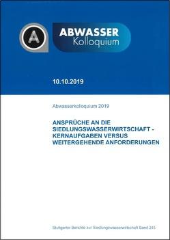 Abwasserkolloquium 2019