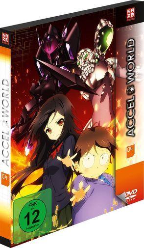 Accel World – DVD 4 von Obara,  Masakazu