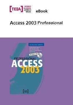 Access 2003 Professional eBook von Urban,  Georg