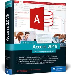 Access 2019 von Langer,  Wolfram
