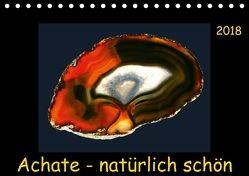 Achate – natürlich schön (Tischkalender 2018 DIN A5 quer) von Heizmann,  Thomas