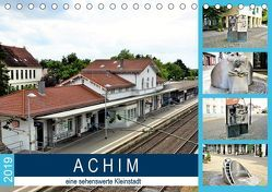 ACHIM – eine sehenswerte Kleinstadt (Tischkalender 2019 DIN A5 quer) von Klünder,  Günther