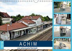 ACHIM – eine sehenswerte Kleinstadt (Wandkalender 2019 DIN A4 quer) von Klünder,  Günther