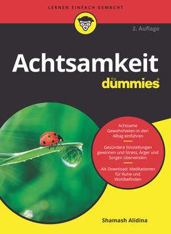 Achtsamkeit für Dummies von Alidina,  Shamash, Strahl,  Hartmut