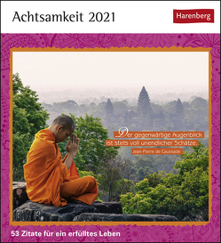 Achtsamkeit Kalender 2021 von Harenberg