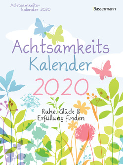 Achtsamkeitskalender 2020 von Winkler,  Herta