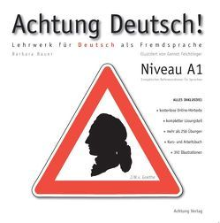 Achtung Deutsch A1 von Bauer,  Barbara, Feichtinger,  Gernot