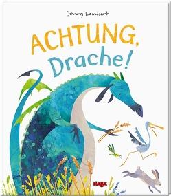 Achtung, Drache! von Lambert,  Jonny, Storch,  Imke