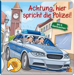 Achtung, hier spricht die Polizei. Soundbuch