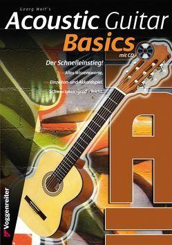 ACOUSTIC GUITAR BASICS von Wolf,  Georg