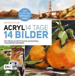 Acryl: 14 Tage – 14 Bilder von Stiller,  Dietmar