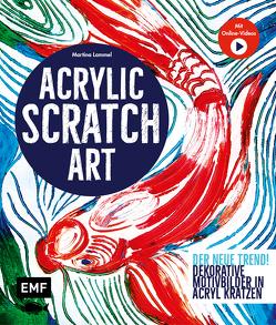 Acrylic Scratch Art von Lammel,  Martina