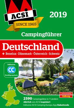ACSI Campingführer Deutschland 2019 von Feyerabend,  Kai
