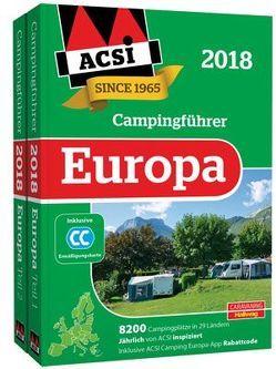 ACSI Internationaler Campingführer Europa 2018 von Feyerabend,  Kai