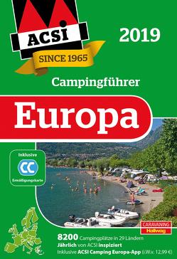 ACSI Internationaler Campingführer Europa 2019 von Feyerabend,  Kai