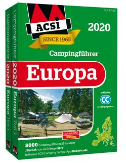 ACSI Internationaler Campingführer Europa 2020 von Feyerabend,  Kai