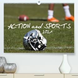 Action and Sports (Premium, hochwertiger DIN A2 Wandkalender 2021, Kunstdruck in Hochglanz) von Hebbel-Seeger,  Andreas