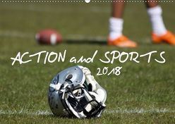 Action and Sports (Wandkalender 2018 DIN A2 quer) von Hebbel-Seeger,  Andreas