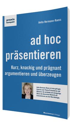 ad hoc präsentieren von Hermann-Ruess,  Anita