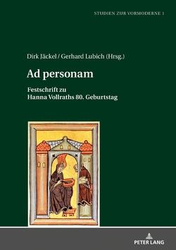 Ad personam von Jäckel,  Dirk, Lubich,  Gerhard