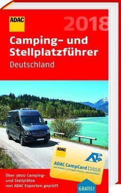 ADAC Camping-/Stellplatzführer Deutschland 2018
