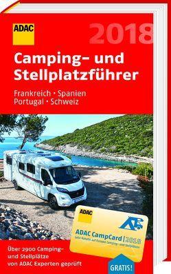 ADAC Camping-/Stellplatzführer Frankreich, Spanien, Portugal, Schweiz 2018