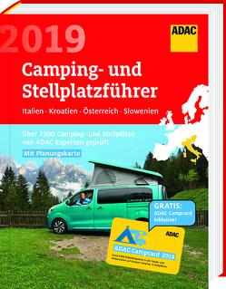 ADAC Camping/Stellplatzführer Italien, Kroatien, A, SL 2019 / ADAC Camping-/Stellplatzführer Italien, Kroatien, Österreich, Slowenien 2019