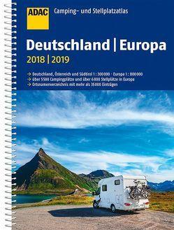ADAC Camping- und Stellplatzatlas Deutschland/Europa 2017/2018