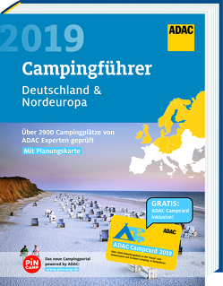 ADAC Campingführer Nord 2019 / ADAC Campingführer Deutschland Nordeuropa 2019