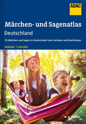 ADAC Märchen- und Sagenatlas Deutschland