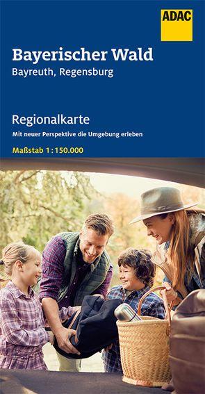 ADAC Regionalkarte Blatt 13 Bayerischer Wald, Bayreuth, Regensburg 1:150 000