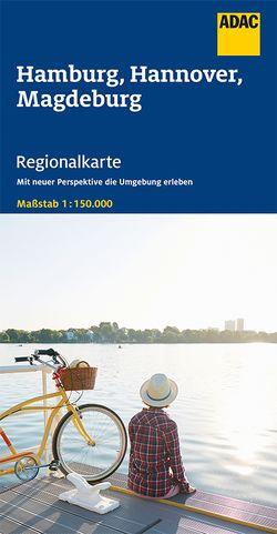 ADAC Regionalkarte Blatt 5 Hamburg, Hannover, Magdeburg 1:150 000