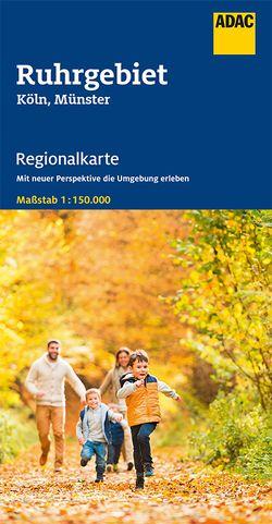 ADAC Regionalkarte Blatt 7 Ruhrgebiet, Köln, Münster 1:150 000