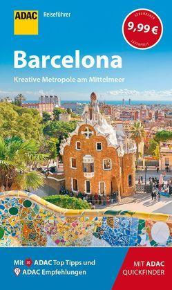 ADAC Reiseführer Barcelona von Macher,  Julia