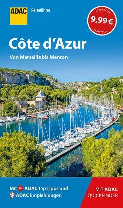 ADAC Reiseführer Côte d'Azur von Zichnowitz,  Jürgen