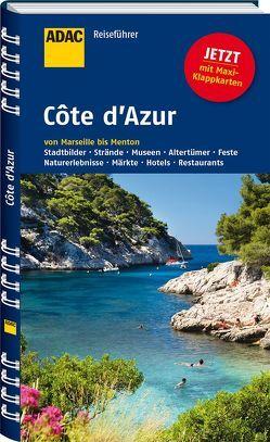 ADAC Reiseführer Côte d'Azur von Gercke,  Hans