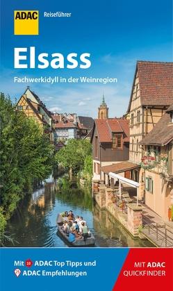 ADAC Reiseführer Elsass von Frommer,  Robin Daniel