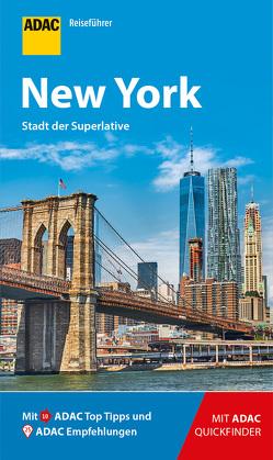 ADAC Reiseführer New York von Glaser,  Hannah