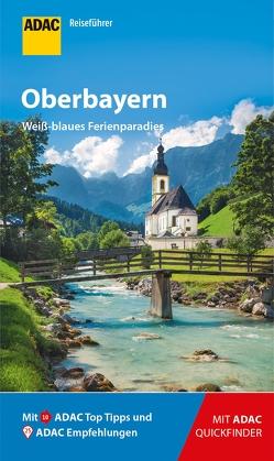 ADAC Reiseführer Oberbayern von Fraas,  Martin