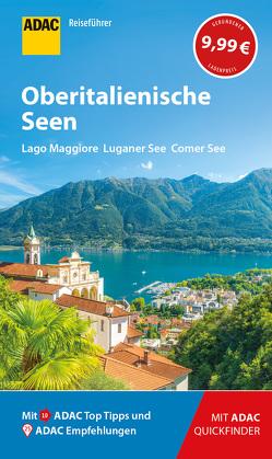ADAC Reiseführer Oberitalienische Seen von Frei,  Franz Marc