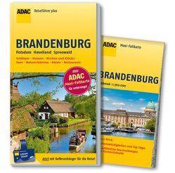 ADAC Reiseführer plus Brandenburg von Sucher,  Kerstin, Wurlitzer,  Bernd